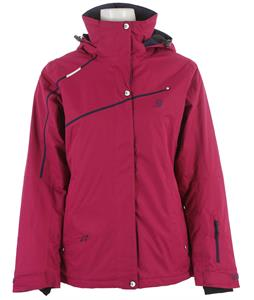 Salomon Supernova Ski Jacket Wild Berry
