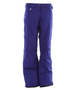 Salomon Superstition Ski Pants Dark Violet Blue