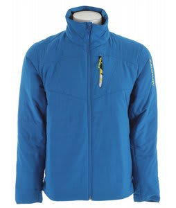 Salomon Supreme FZ Ski Jacket Vibrant Blue