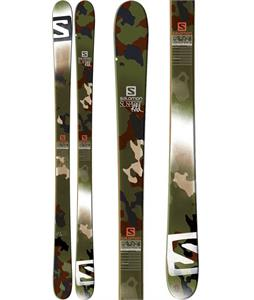 Salomon Suspect RLD Skis Green/White