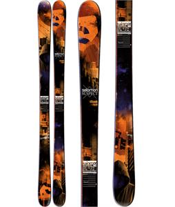 Salomon Suspect Skis Orange/Black/Blue