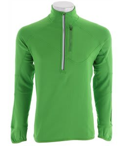 Salomon Swift Midlayer Baselayer Top Bright Green