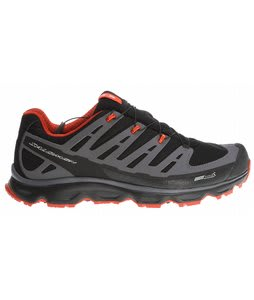 Salomon Synapse CS Hiking Shoes Black/Dark Cloud/Moab Orange