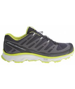 Salomon Synapse Hiking Shoes Asphalt/S Green/Light Grey