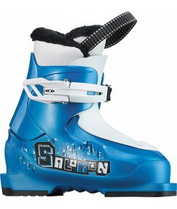 Salomon T1 Ski Boots Process Blue/White