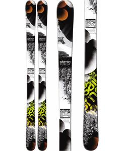 Salomon Threat Skis White/Black/Green