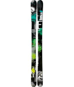Salomon Threat Skis Black/Green/Grey