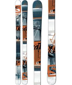 Salomon Threat Skis Blue/Orange/White