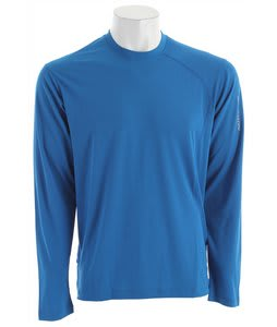 Salomon Trail III L/S Baselayer Top Vibrant Blue
