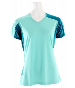 Salomon Trial IV T-Shirt Celadon/Dark Bay Blue
