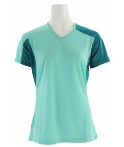 Salomon Trail IV T-Shirt Celadon/Dark Bay Blue/Dark Bay Blue