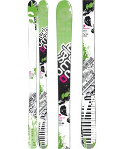 Salomon Twenty Twelve Skis White/Green
