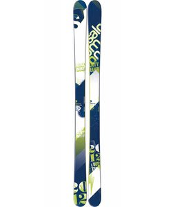 Salomon Twenty-Twelve Skis White/Blue/Green