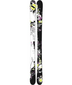 Salomon Vamp Skis Black/White