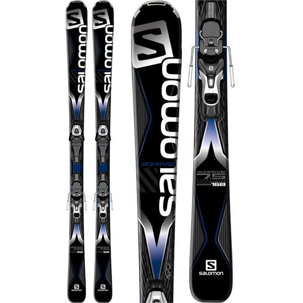 Salomon X-Drive 7.5 Skis w/ Easytrak Lithium 10 Bindings