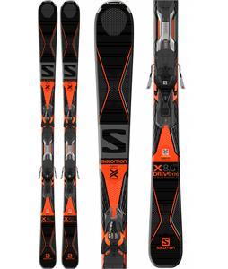 Salomon X-Drive 8.0 Skis w/ X-Track XT10 Bindings