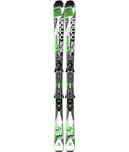 Salomon X-Drive 80 TI Mens Skis 163 w/ Z12 Protrak B90 Bindings