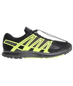 Salomon X-Scream Shoes Black/Fluo Yellow/ Autobahn