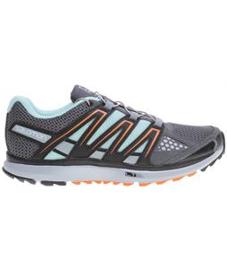 Salomon X-Scream W Shoes Dark Cloud/Light Onix/Orange Feeling