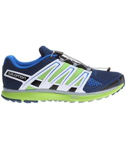 Salomon X-Scream Shoes Midnight Blue/Granny Green/White