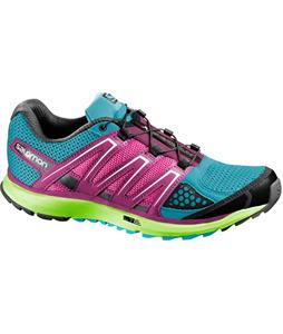 Salomon X-Scream Shoes Boss Blue/Granny Green/Hot Pink