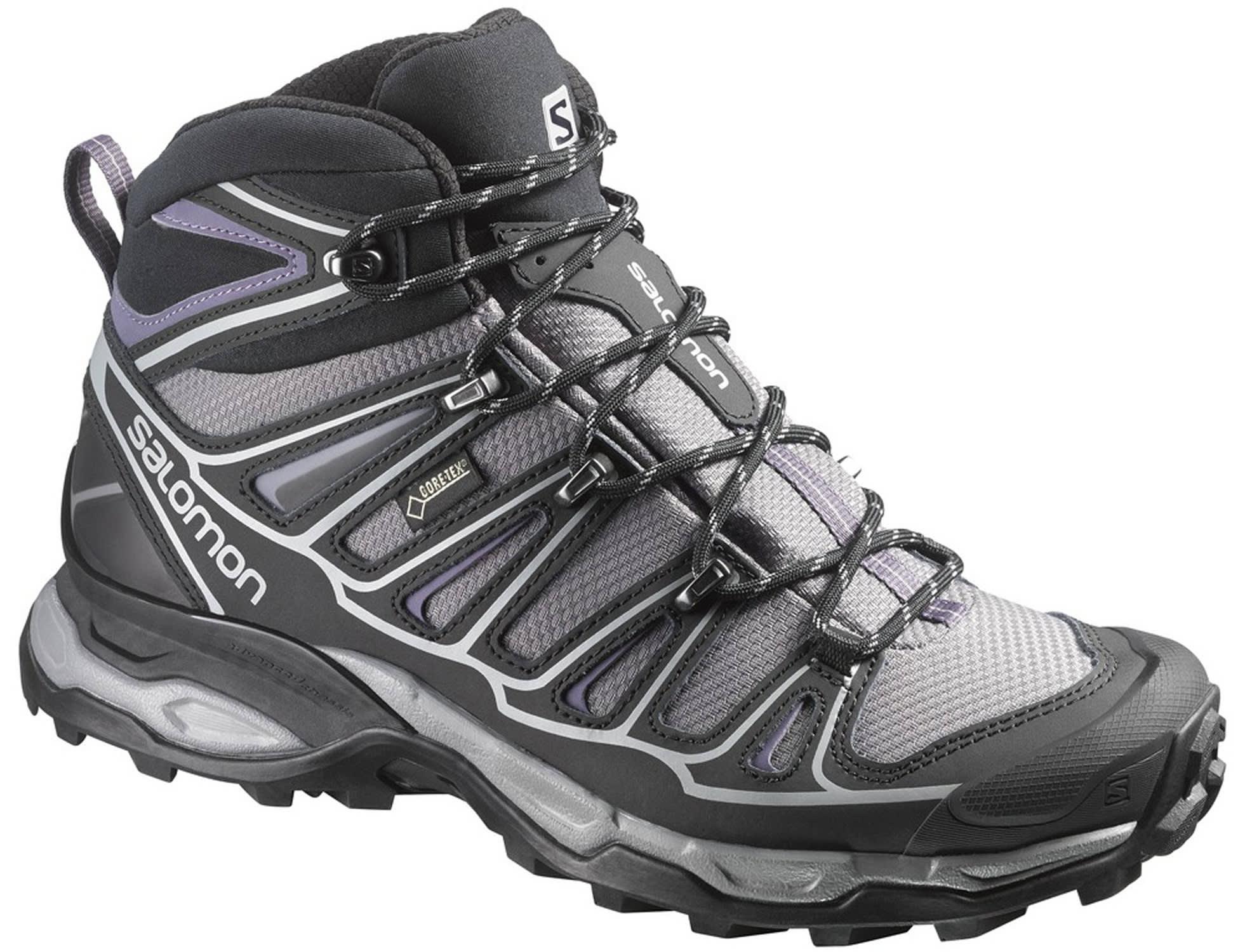 Womens Black Hiking Shoes