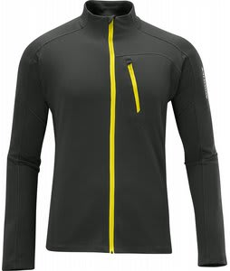 Salomon Xa Midlayer Fleece Asphalt/Corona Yellow