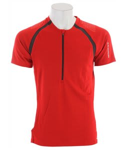 Salomon XA Zipped T-Shirt Matador/Asphalt/Matador