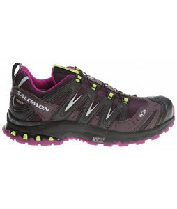 Salomon XA Pro 3D Ultra 2 GTX Hiking Shoes Dark Plum/Very Purple/Pop Green