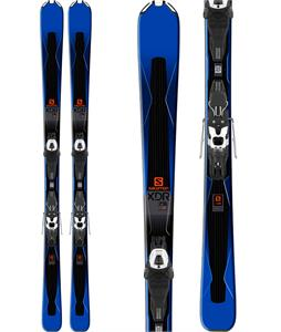 Salomon XDR 75 Skis w/ Easytrak 2 Lithium 10 Bindings