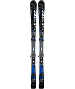 Salomon X-Drive 75 Skis w/ Z10 Bindings Black/Blue