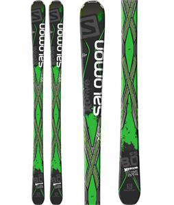Salomon X-Drive 8.0 FS Skis Black/Green