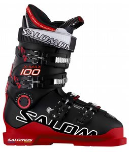 Salomon X Max 100 Ski Boots Black/Red