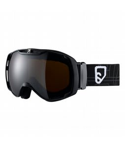 Salomon Xtend Xplore8 Goggles Black/Orange Mirror Lens