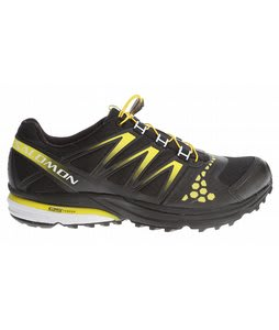 Salomon XR Crossmax Neutral Hiking Shoes Black/Canary Yellow/Cane