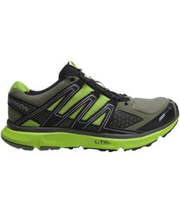 Salomon XR Mission CS Hiking Shoes Iguana Green/Black/Organic Green