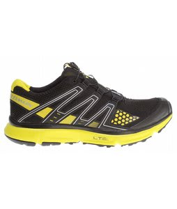 Salomon XR Mission Hiking Shoes Black/Black/Canary Yellow