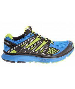 Salomon XR Mission Hiking Shoes Bright Blue/Black/Pop Green