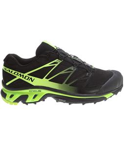 Salomon XT Wings 3 Shoes Black/Black/Fluo Yellow