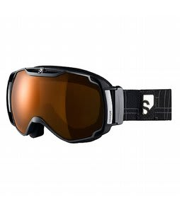 Salomon Xtend Xpro10 Goggles Black/Orange Mirror Lens