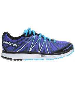 Salomon X-Tour Shoes Light Spectrum/White/Fluo Blue