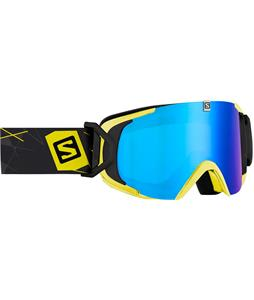 Salomon XView Goggles Yellow/ ML Blue Solar Lens
