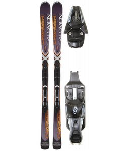 Salomon XW Charger Skis Grey/Black w/ L10 Bindings