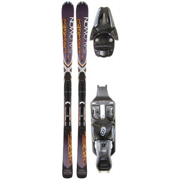 Salomon XW Charger Skis Grey/Black w/ L10 Bindings
