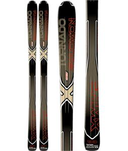 Salomon XW Tornado Skis Black/Red