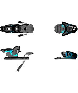 Salomon Z12 Ski Bindings Black/Blue 90mm