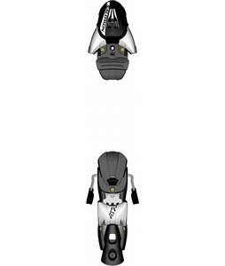 Salomon Z12 TI Ski Bindings White/Black