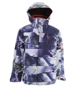 Salomon Zero II Ski Jacket Astral/Black/White