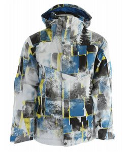 Salomon Zero II Ski Jacket Vibrant Blue/Corony