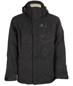 Salomon Zero Insulated Ski Jacket Black